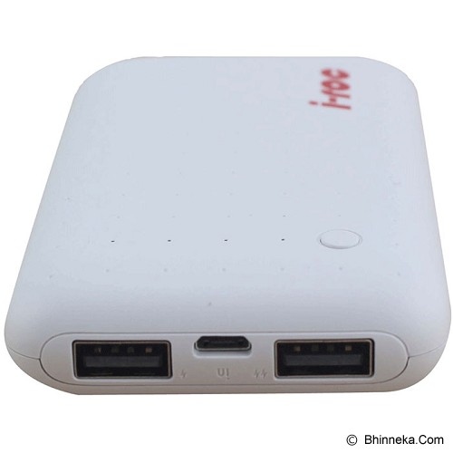 IROC Powerbank iroc Max P3 7800 mAh [P3] - White - Portable Charger / Power Bank